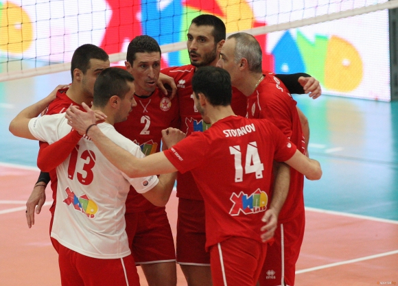 Волейболистите на ЦСКА и Нефтохимик на европейска сцена днес