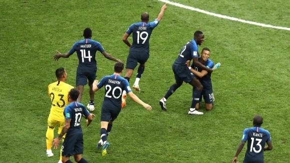 Франция има най-много футболисти в първенствата от топ 5 в Европа