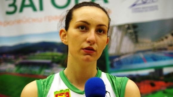 Веси Григорова: Победихме, защото играхме като истински колектив