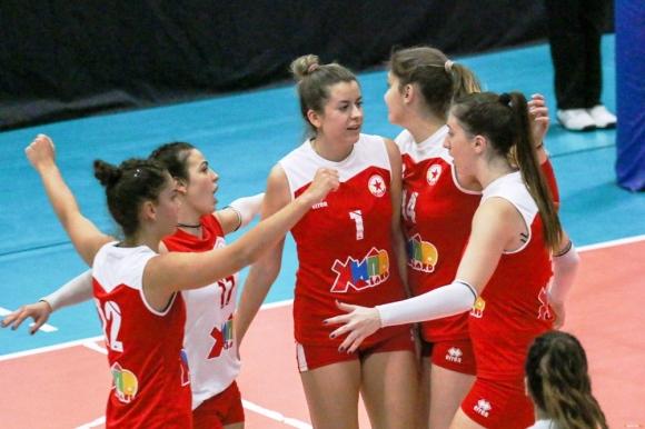Волейболистките на ЦСКА с нова победа