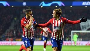 """Монако не изненада Атлетико Мадрид, Фалкао зарадва """"дюшекчиите"""" (видео + галерия)"""