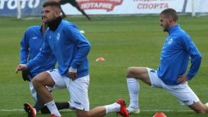 Групата на Дунав за гостуването на Левски