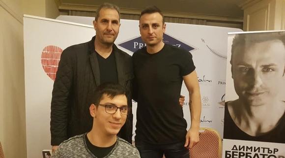 Бербатов направи фурор и в Бургас, Херо също дойде за автограф