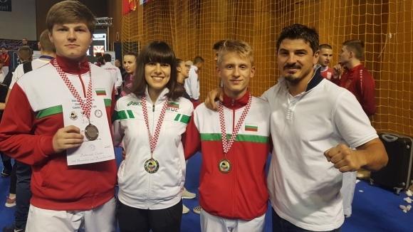 Българските състезатели спечелиха осем медала на Балканиадата по карате в Дубровник