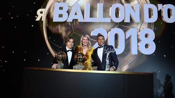 """Франс Футбол"" награди Килиан Мбапе"