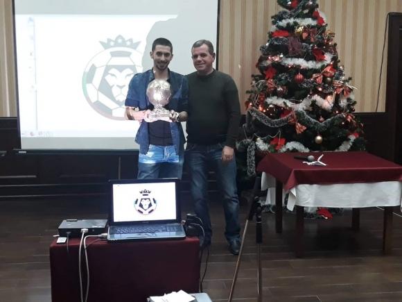 Пламен Гетов награди футболист номер 1 в БАМФ Плевен
