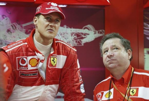 Шумахер и Жан Тод гледали заедно ГП на Бразилия