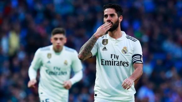 Пренебрегваните от Солари донесоха гръмка победа на Реал Мадрид (галерия)