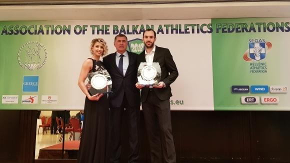 Рамил Гулиев и Параскеви Папахристу са номер 1 на АБАФ за 2018-а