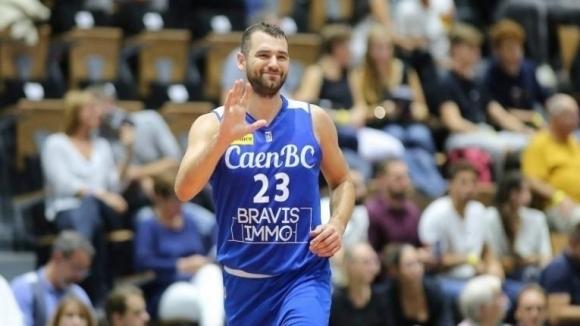 Павел Маринов игра 21 минути при победа на Каен