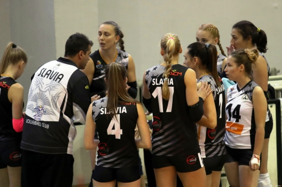 Волейболистките на Славия завършиха с победа полусезона
