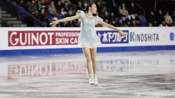 Рика Кихира победи олимпийската шампионка Алина Загитова на финала на турнира Гран При във Ванкувър