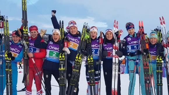 Норвегия спечели щафетата от Световната купа по ски-бягане в Бейтостолен (видео)