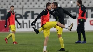 Ботев стартира подготовката за мача с Витоша