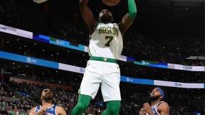 Бостън спечели едно от класическите дербита в НБА, Портланд отнесе Финикс