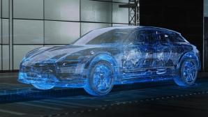 """Porsche тества виртуални прототипи на """"Нюрбургринг"""""""