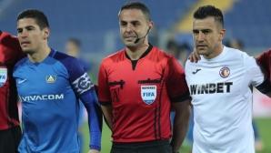 Горанов: И на повторението се вижда, че ме избута с ръка (видео)