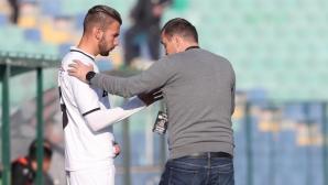 Загорчич: Лудогорец играе по-добре при Здравков