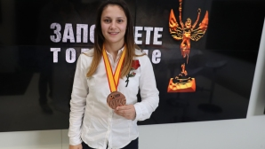 Ивет Горанова загуби в спора за бронзовия медал в Шанхай