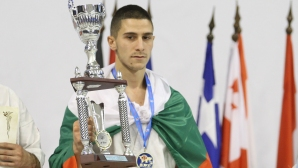Кристиян Дойчев стана европейски шампион! България с 9 медалисти по карате киокушин (снимки)