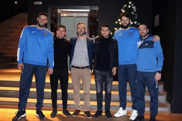 Футболният Левски ще подкрепи баскетболистите срещу Ирони Нес Циона