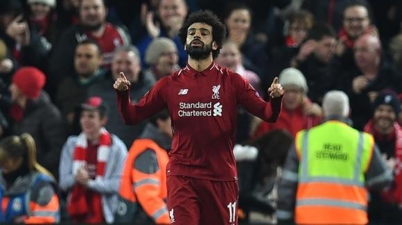 Вездесъщият Салах изведе Ливърпул до 1/8-финала (видео+галерия)