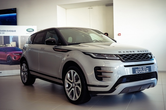 Новият Range Rover Evoque пристигна предпремиерно в България