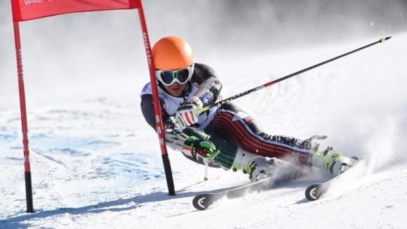 Алберт Попов завърши на 58-о място в гигантския слалом от Световната купа