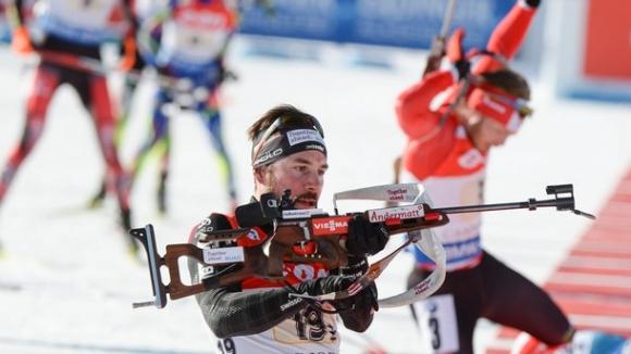 Кристиян Стоянов завърши на 35-о място в преследването на 12.5 км от Купата на ИБУ в Италия