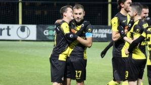 """Ботев (Пд) - Витоша 2:0, Неделев с два страхотни гола, """"канарчетата"""" с човек по-малко"""