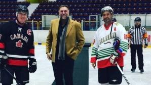 Шефът на федерацията: Не можем да създадем хокеист като Георгиев