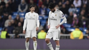 """Реал Мадрид допусна най-тежката си загуба на """"Бернабеу"""" в историята на ШЛ (видео+галерия)"""