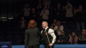 След този в Пловдив Хигинс направи максимум и в Scottish Open
