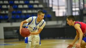 Тройка на Керемедчиев донесе първи успех на момчетата на Балканиадата в Румъния