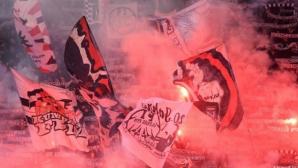 "10 000 привърженици на Айнтрахт подпалиха ""Олимпико"" (видео)"