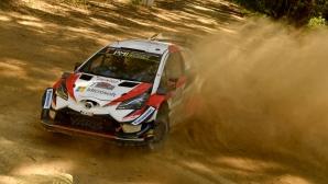 Toyota с проблеми в подготовката за рали Монте Карло
