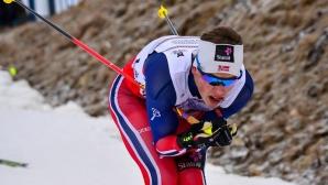 Йоханес Клаебо и Стина Нилсон спечелиха спринтовете в Давос