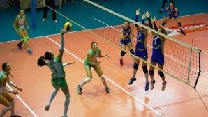 Волейболистките на Берое завършиха полусезона с победа