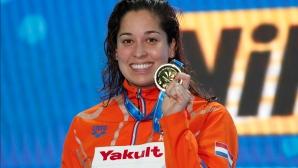 Раноми Кромовиджоджо спечели златото на 50 метра свободен стил