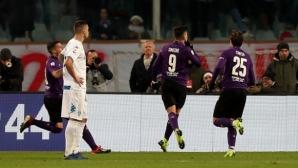 Фиорентина спечели дербито на Тоскана след пълен обрат (видео)