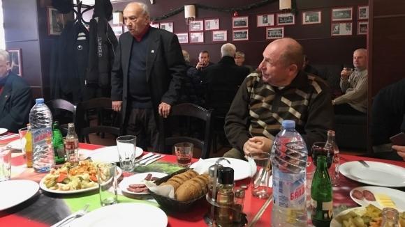 ЦСКА-София събра ветерани за празничен обяд