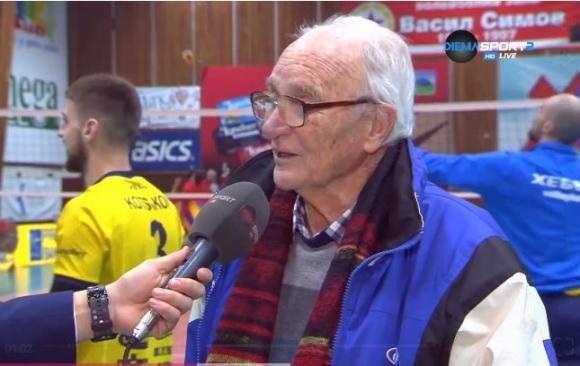 Тодор Симов: Волейболната зала е историческо място за ЦСКА