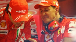 Ферари със специална изложба в чест на 50-ата годишнина на Шумахер
