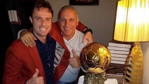 Салпаров сияе до Стоичков и Златната топка