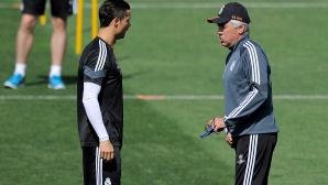 Анчелоти продължава да смята Роналдо за №1
