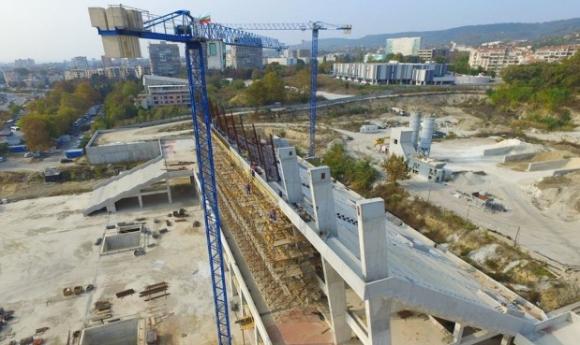 """Стадион """"Варна"""" едва ли ще е готов през 2019 година"""