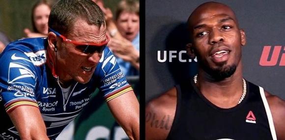 Ланс Армстронг скочи на UFC за казуса с Джон Джоунс