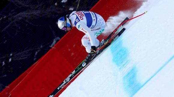Доминик Парис спечели за втора поредна година спускането в Бормио