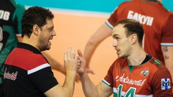 Пламен Константинов и Локомотив (Новосибирск) с 8-а победа в Суперлигата на Русия (снимки)