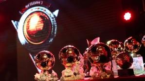 Церемонията за Футболист №1 на 2018 година на живо в Sportal.bg и Sportal TV